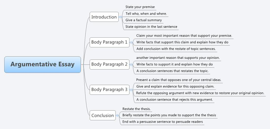 Argument in essay writing
