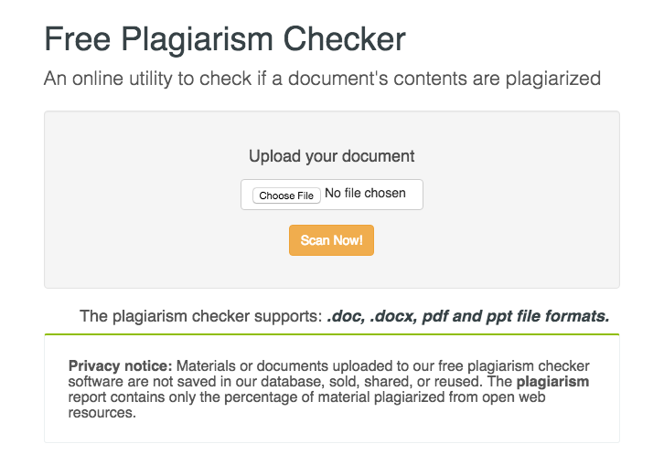 free-plagiarism-checker