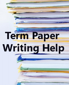 Strategies for Structuring a Term Paper