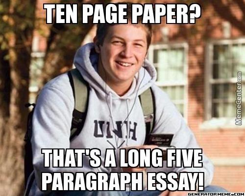 college freshmen meme